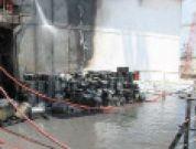 Real Life Accident: Haphazard Storage Creates Fire Hazard On Ship