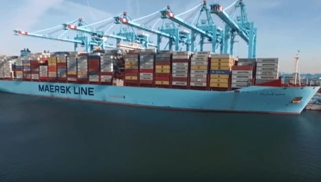 Credits: Maersk Line/YouTube