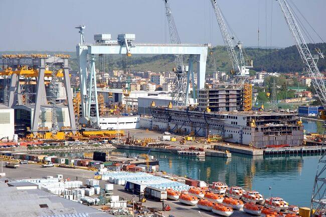 fincantieri shipyard