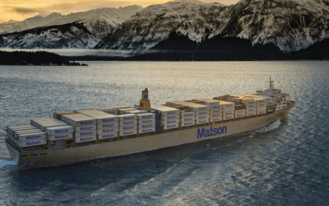 matson container ship
