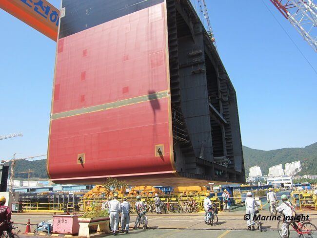 Shipbuilding Process - Plate Stocking, Surface Treatment and Cutting
