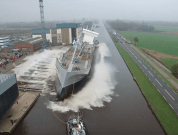 Watch: World's First LNG Fuelled Dry Cargo Vessel Launched