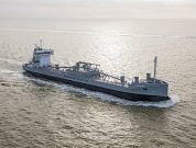 World's First LNG Powered Cement Carrier Delivered
