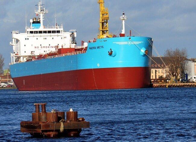 Maersk arctic tanker