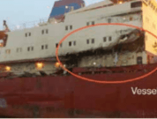 Real Life Accident: Vessels Collide in Fog, Sustain Substantial Damage