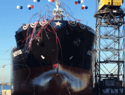 Video: First Ship of The ECO Class Tankers Series Launched By GD NASSCO
