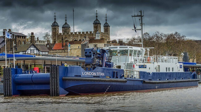 Credits: Port of London Authority
