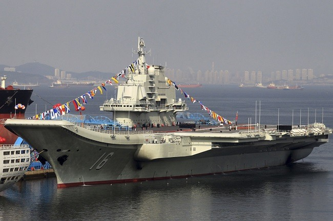 Liaoning_aircraft_carrier china