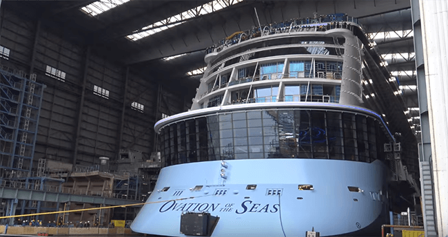 Photos And Video Float Out Of Royal Caribbean S Newest