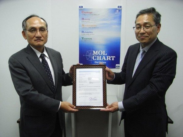 MOL SIGTTO CERTIFICATION