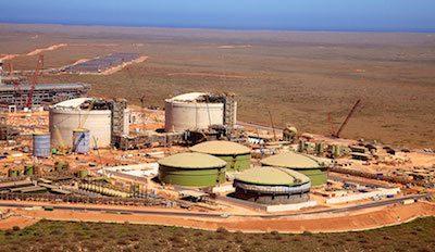 Gorgon LNG plant