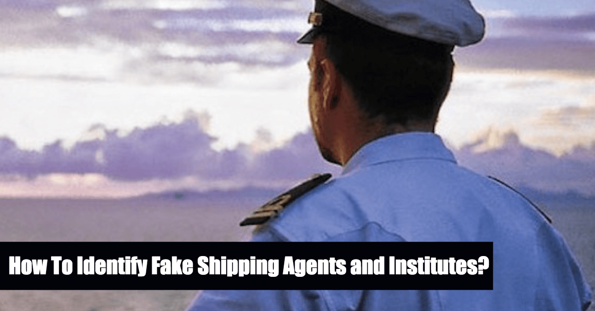 How To Identify Fake Or Fraudulent Shipping Agents And Institutes?