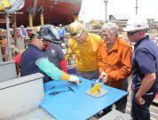 NASSCO Hosts Keel Laying Ceremony for Jones Act Tanker Liberty