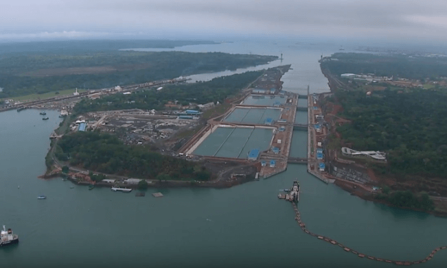 Credits: Panama Canal/YouTube
