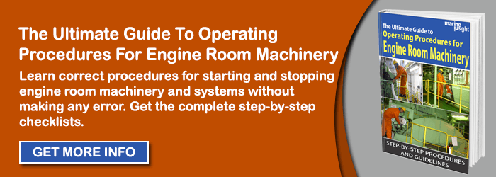 INA engine room machinery