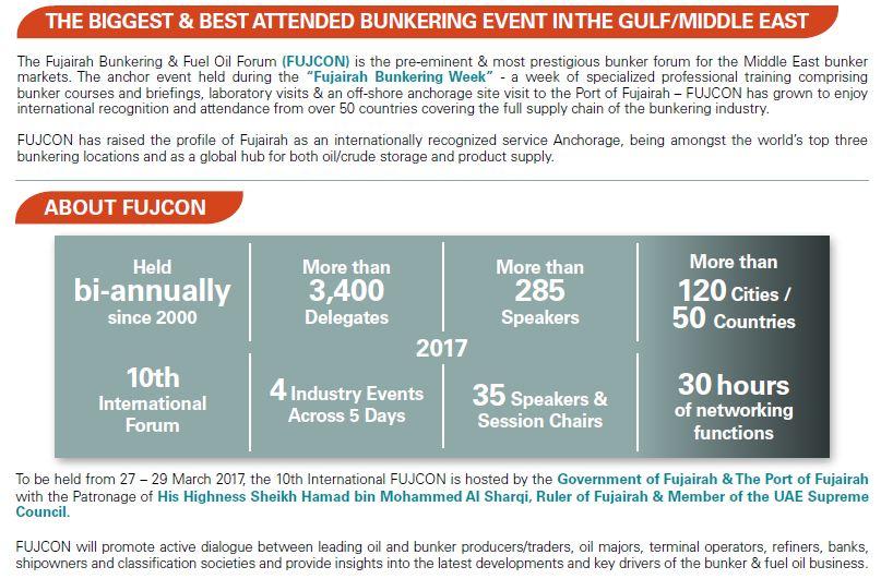 10th International Fujairah Bunkering & Fuel Oil Forum