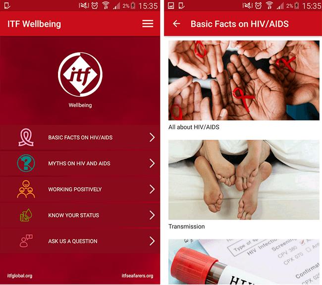 itf wellbeing app