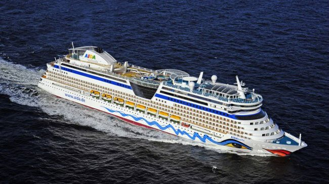 AIDA Launches Its First Cruise Ship For The Chinese Market - Aida de cruise ship