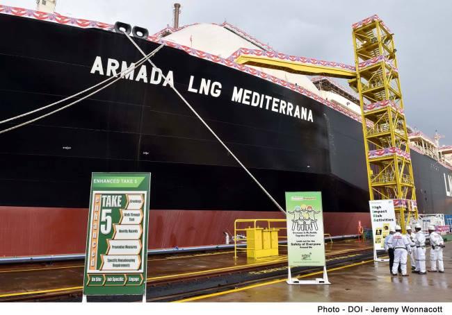 FSU Armada LNG Medterrana