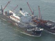 """Watch: """"Pioneering Spirit"""" Departs Rotterdam"""