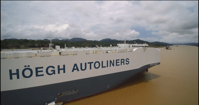 Höegh Autoliners Named 'Supplier Of The Year' By GM For 11th