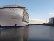 Watch: One Minute Tour Of The World's Largest Cruise Ship