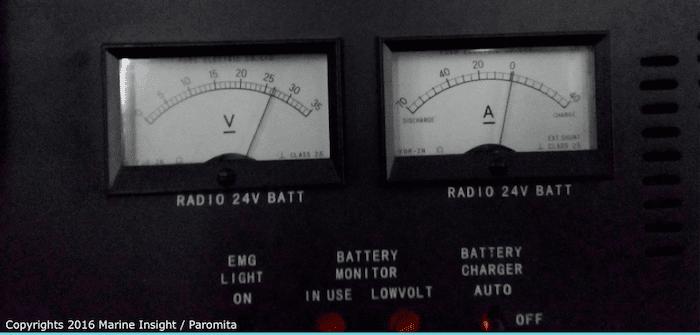 gmdss voltmeter