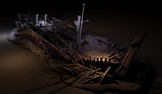 photogrammetric-model-of-a-shipwreck-ottoman-period