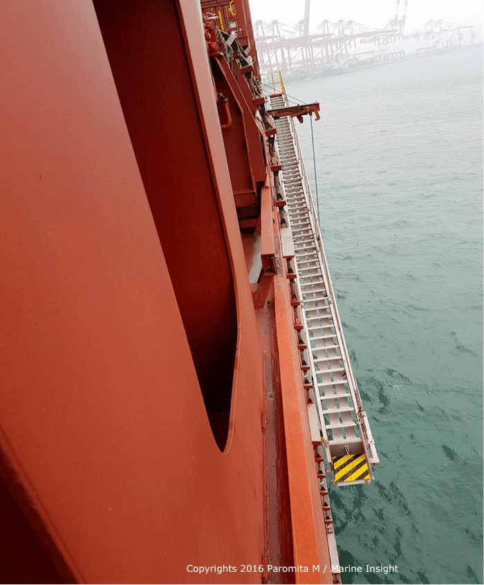 vessel pilot ladder