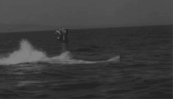 Submarine snorkelling