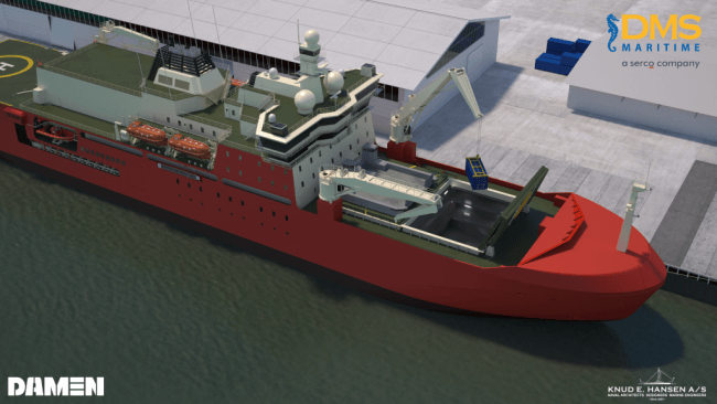 Antarctica's new ice breaker