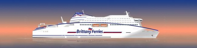 Brittany LNG Powered Ship
