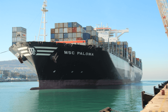 MSC PALOMA Adriatic