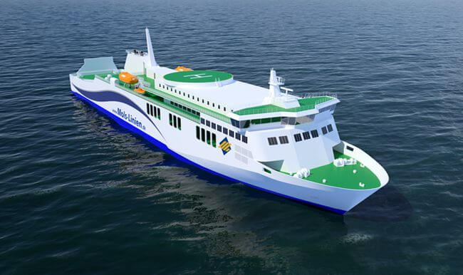 RR Propulsion_Danish Ferry