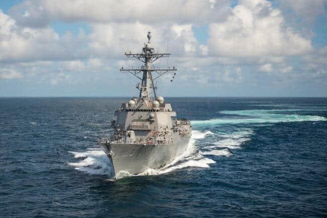 USS John Finn ddg_113_alpha_trials Photo by Lance Davis HII 300 dpi