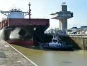 Largest Capacity Vessel To-Date Transits The Expanded Panama Canal Locks