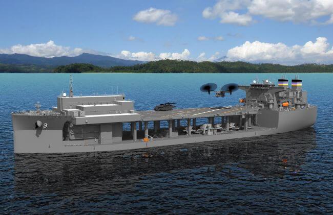 ESB-Bow-Portside_US Navy_NASSCO_GD