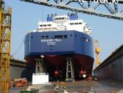 Photos: Teekay Launches Its First Icebreaker LNG Carrier