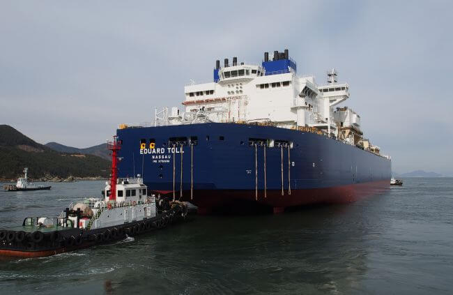 Eduard Toll Teekay Icebreaker LNG