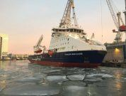 New Ice-Breaking Platform Supply Vessel (IBSV) For Sakhalin-2 Project Named