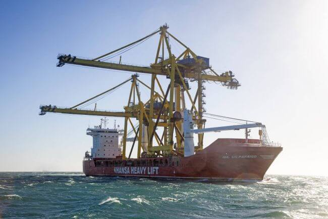 Hansa Heavy Lift Valparaiso