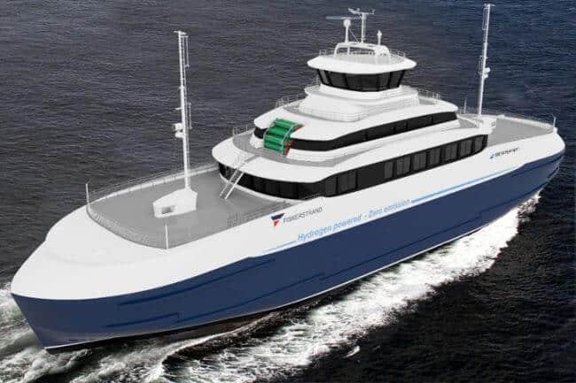 Hydrogen Powered Ferry