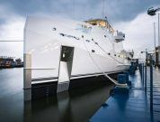 DAMEN Launches It's 4th Yacht Support Vessel GAME CHANGER