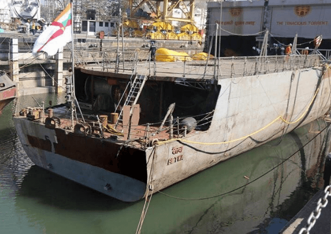INS Betwa_Even Keel