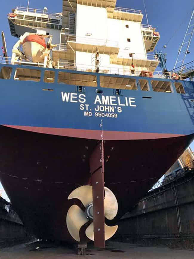 MV WES AMELIE_Conversion1