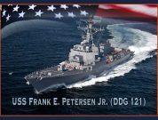 Keel Laid For Guided-Missile Destroyer USS Frank E. Petersen Jr.