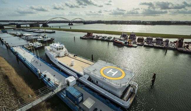 New DAMEN_Yacht_Support_GAME_CHANGER_launched