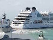 Watch: Brand New Luxury Cruise Ship Collides With Vessel In Port Timaru
