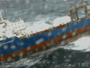 Watch: Barge Carrier Towed To Safety After Drifting Close To Shore Off Norway