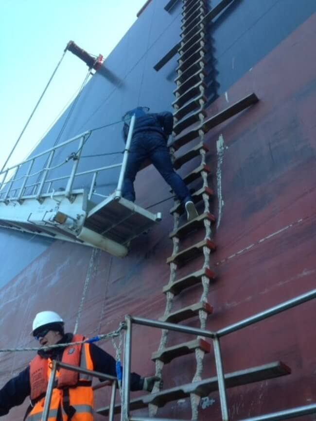 Accommodation Ladder On Ships Requirements Operations